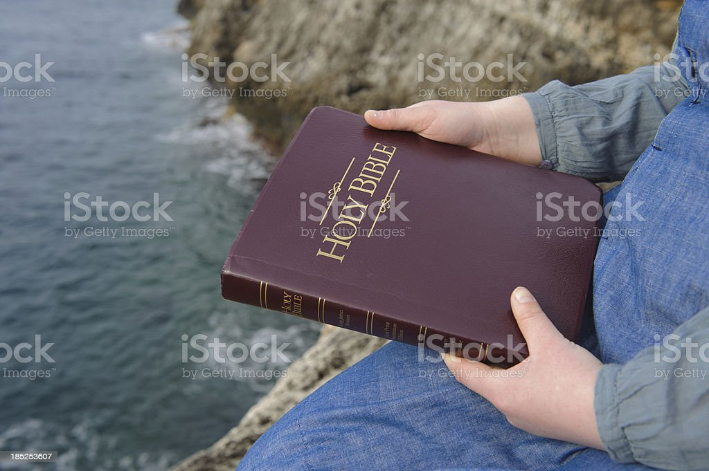 Holy Bible stock photo