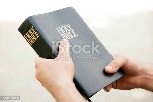 istock Holy bible 485276890