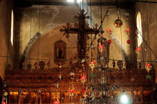 Kutsal Kilise Doğuş Bethlehem İsrail stok fotoğrafı