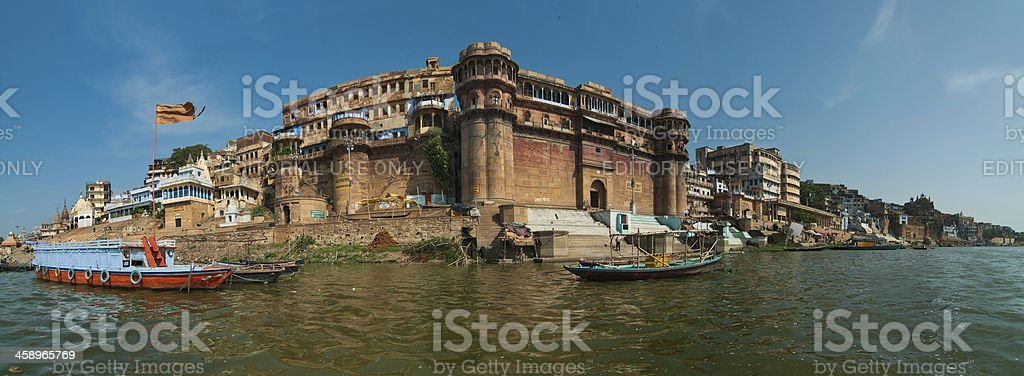 Holy City of India -Varanasi royalty-free stock photo