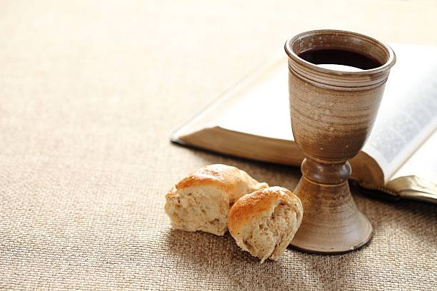 holy communion - communion stock photos and pictures