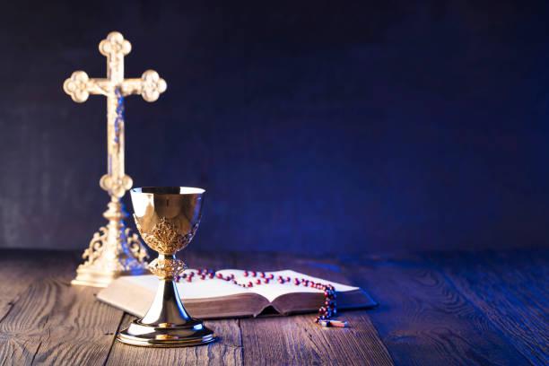 Holy communion. Catholic theme. catholicism stock pictures, royalty-free photos & images