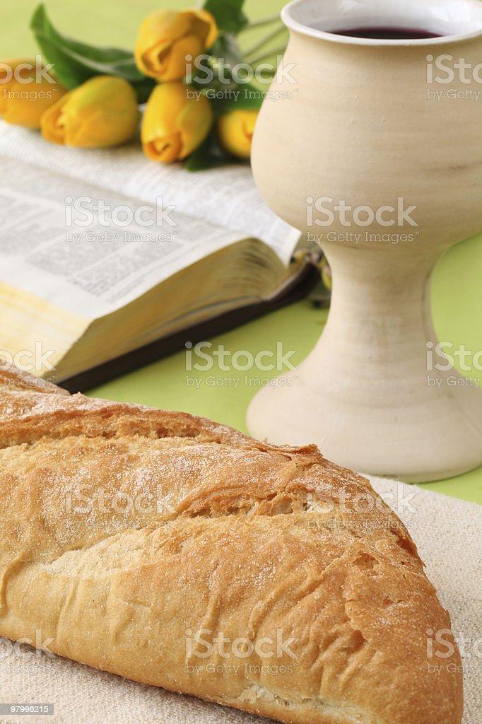 Holy communion royalty free stockfoto