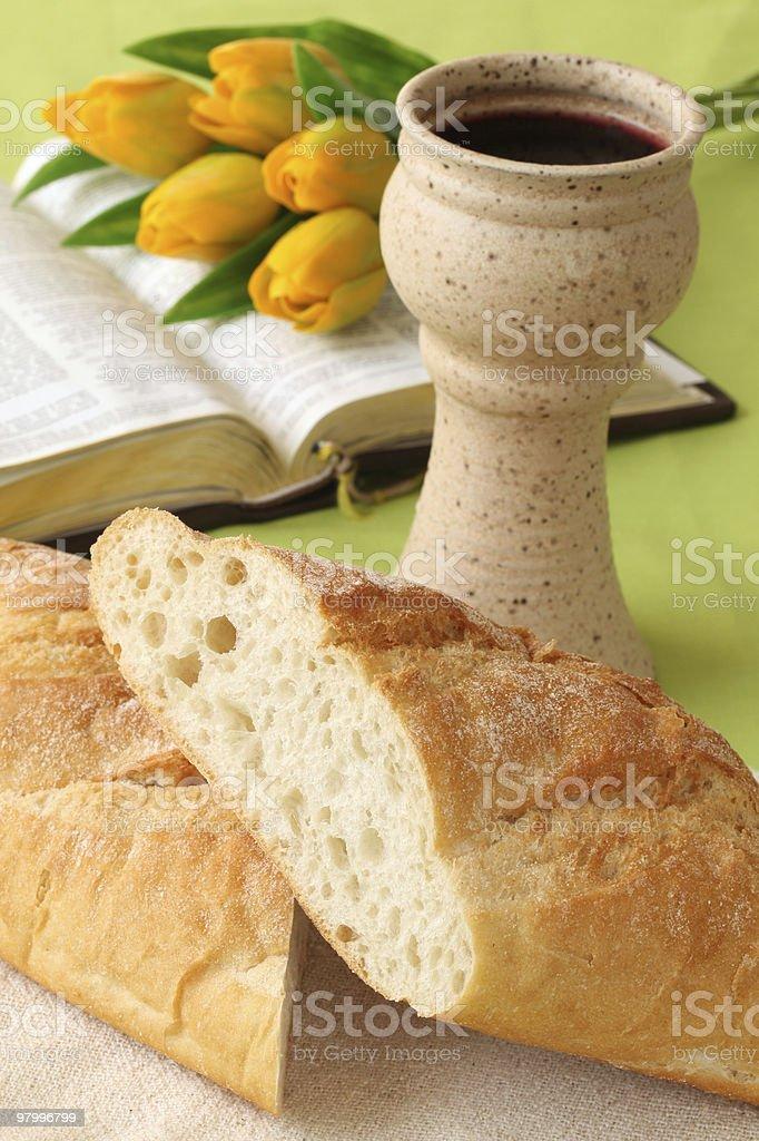 Holy communion royalty-free stock photo
