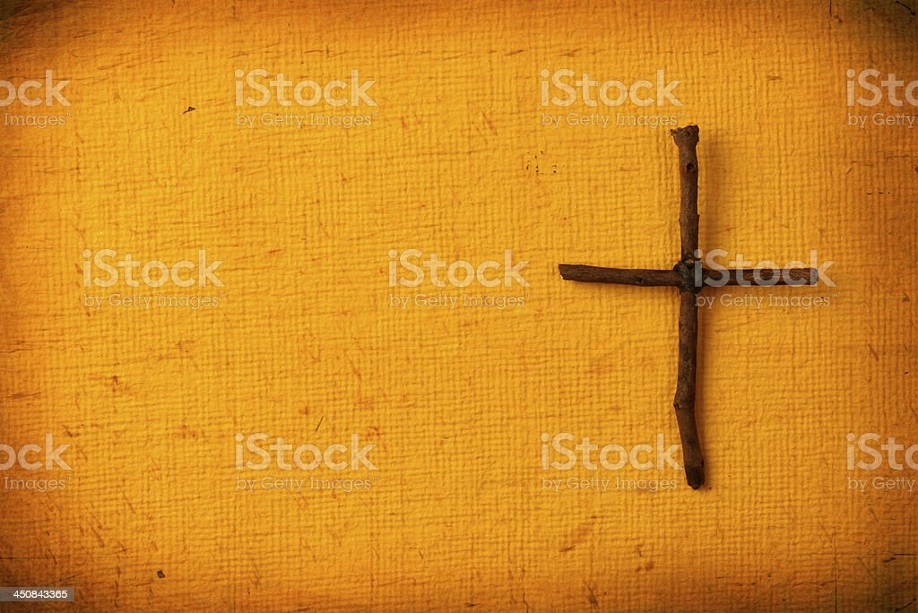 Holy cross stock photo