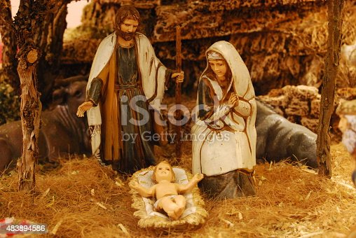 istock Holy Family in old Palestine 483894586