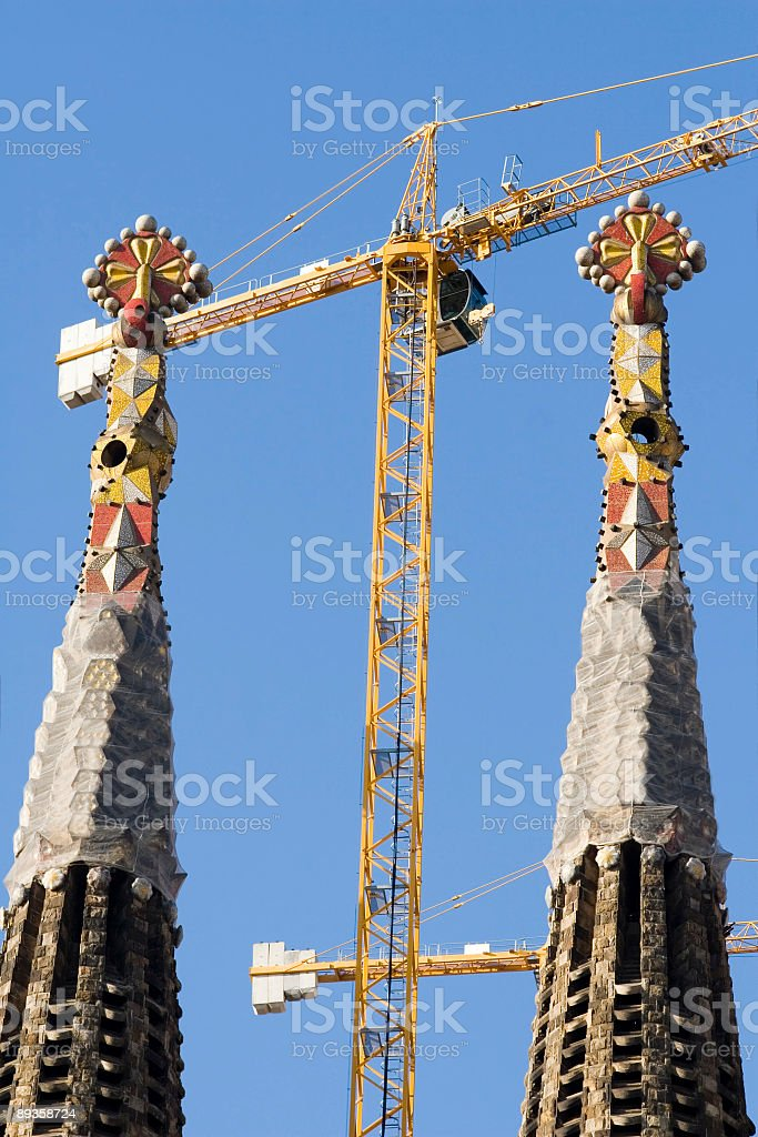 sagrada familia royalty free stockfoto