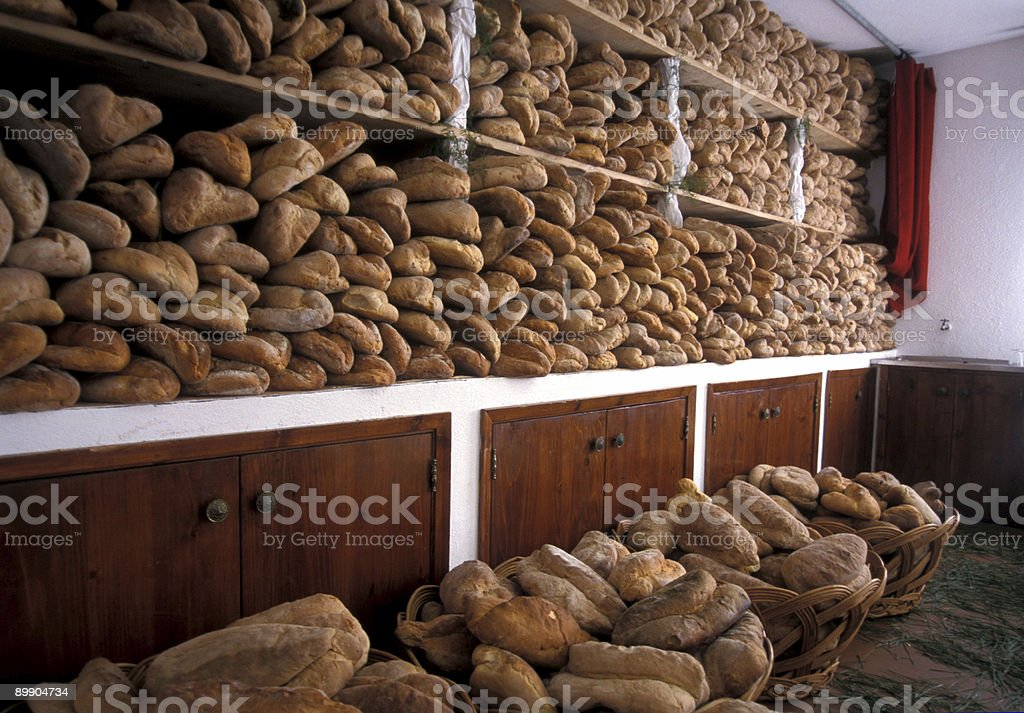 Holy Ghost Bread Room stock photo