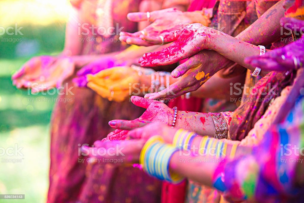 Holy hands royalty-free stock photo