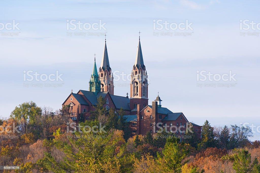 Holy Hill church foto royalty-free