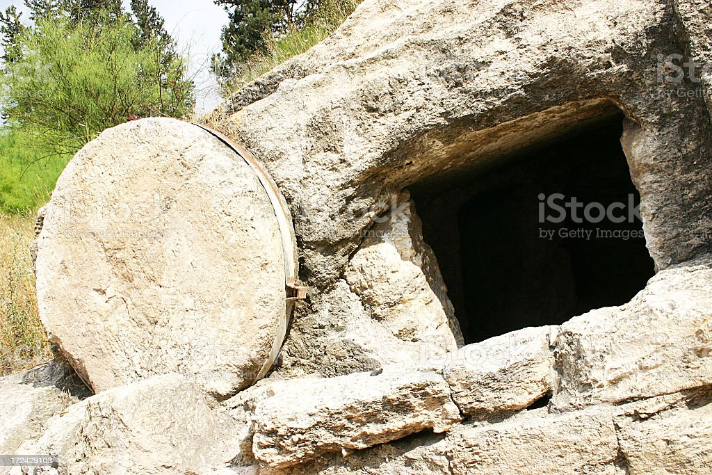 Holy Land Tomb Series stock photo
