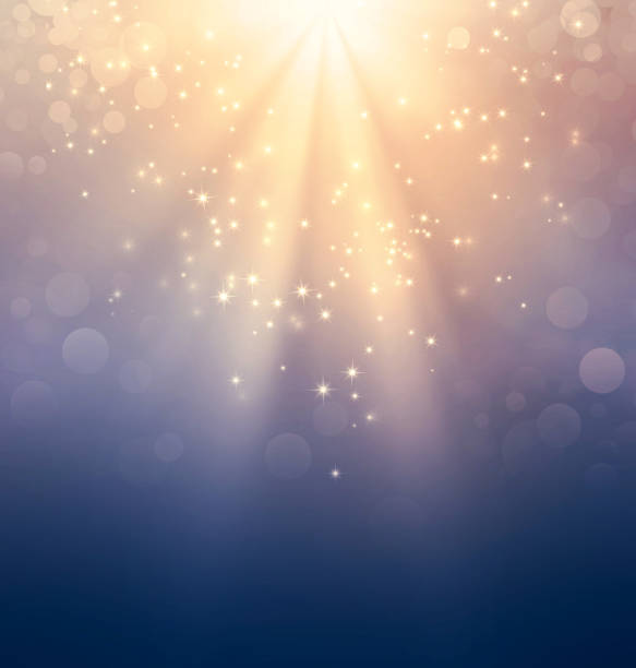 holy light on gold - ethereal stock pictures, royalty-free photos & images