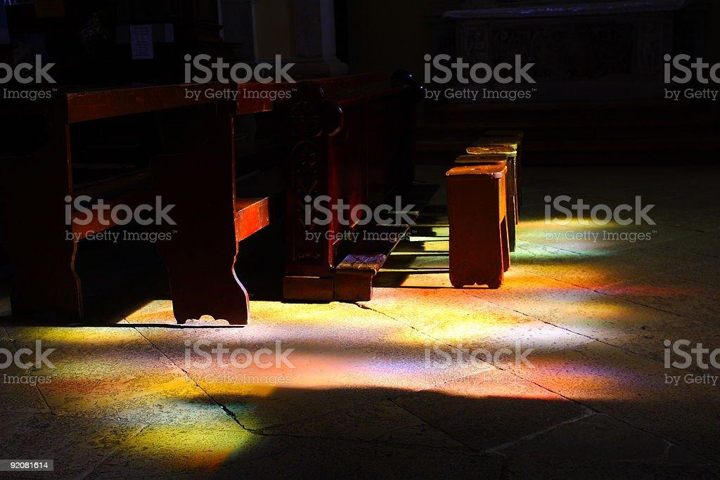 Holy light royalty-free stock photo