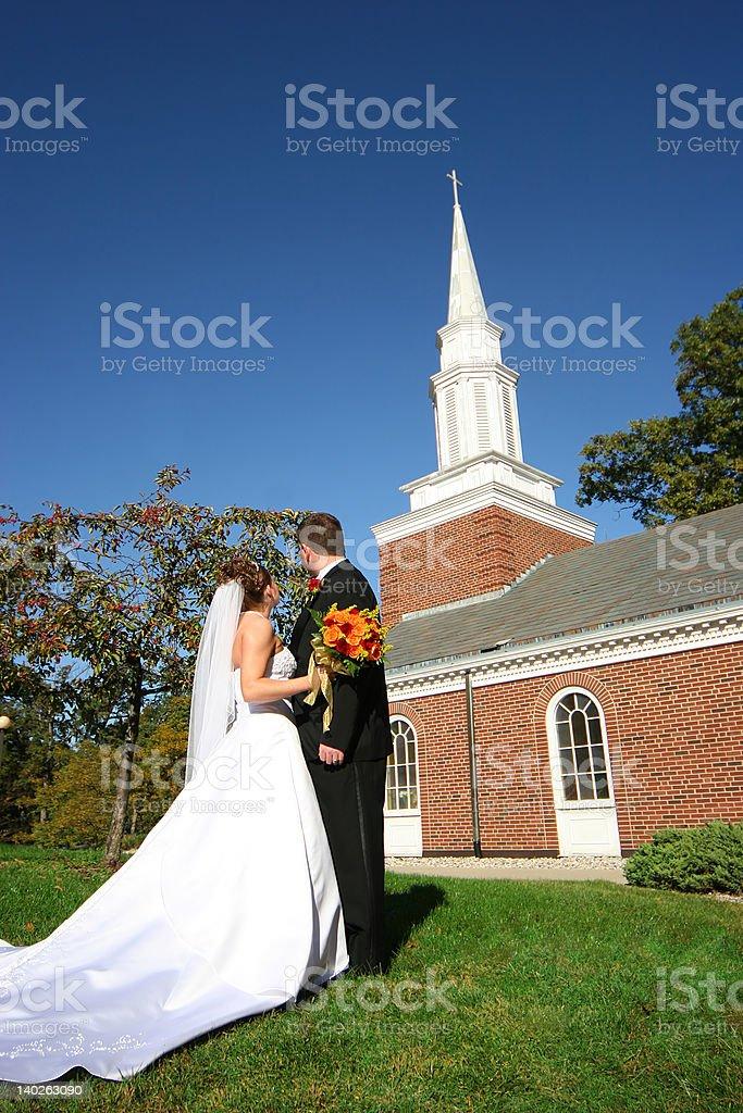 Holy Matrimony royalty-free stock photo