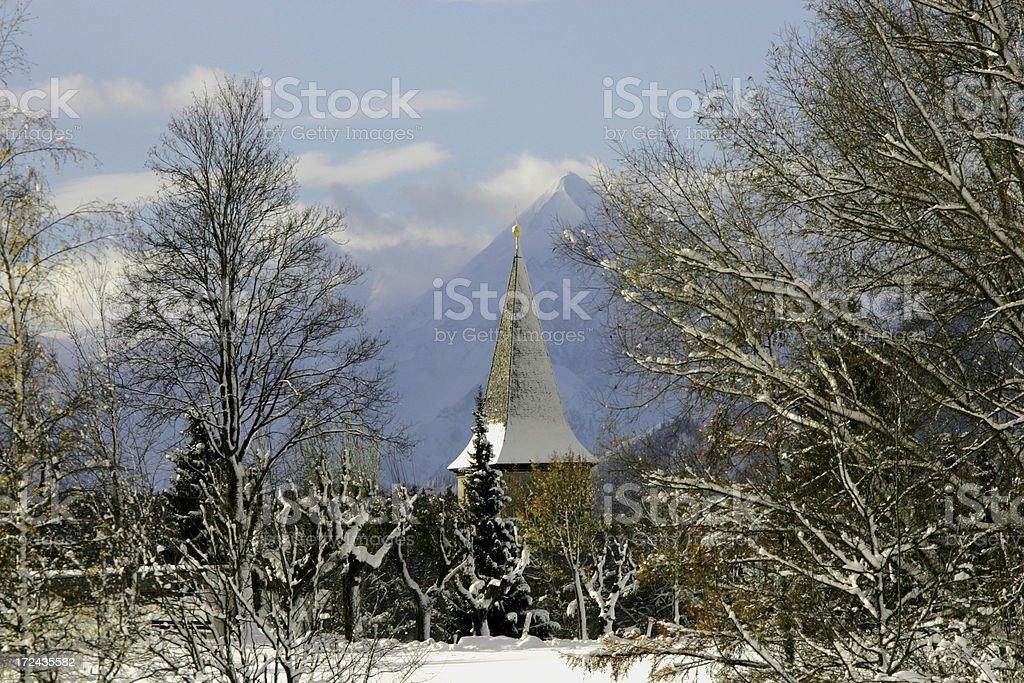holy mountain stock photo