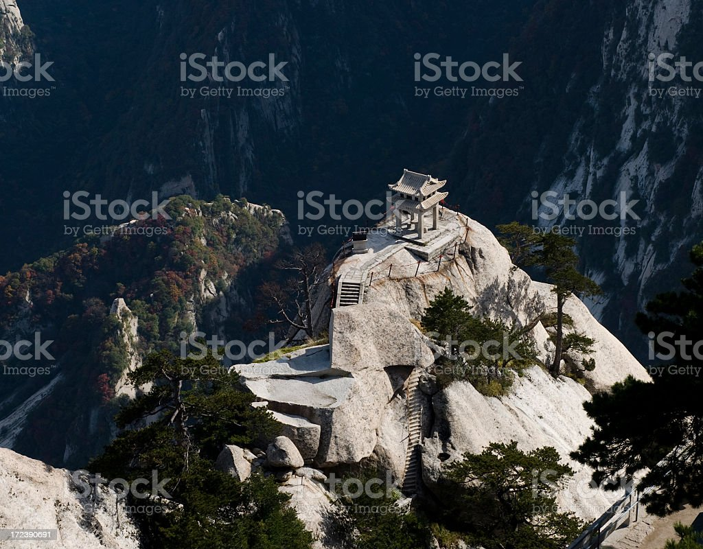 Holy Peak royalty-free stock photo