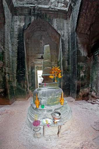istock Holy sanctuary in Prasat Bayon 476673028