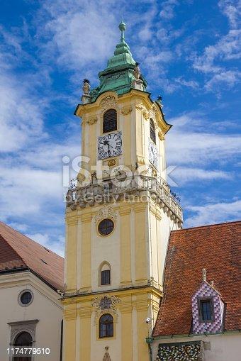 Holy Saviour Church (Jesuit Church)  on Hlavné námestie (Main Square), Old Town, Bratislava, Slovakia