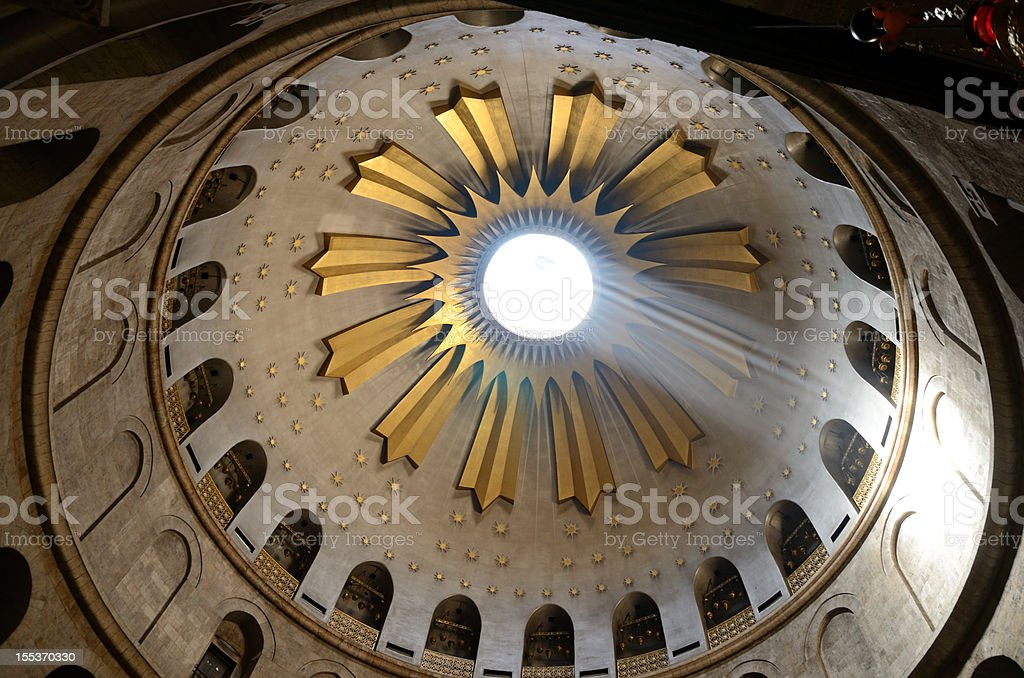 Holy Sepulchre royalty-free stock photo