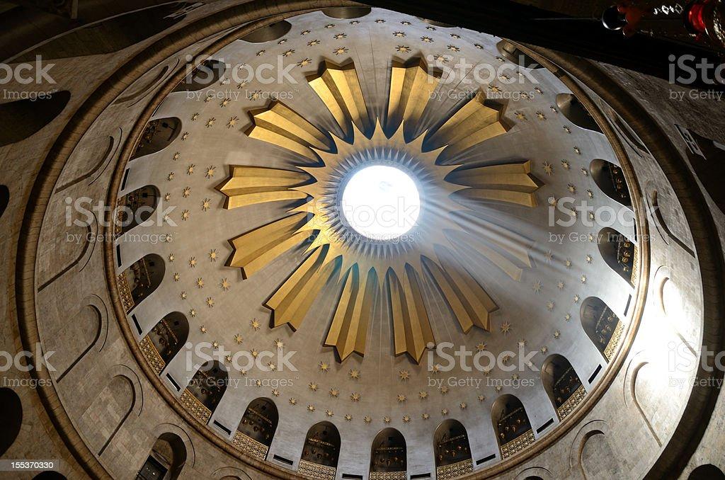 Holy Sepulchre stock photo