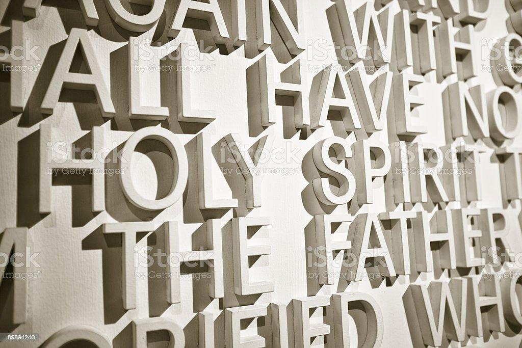 Holy Spirit royalty-free stock photo