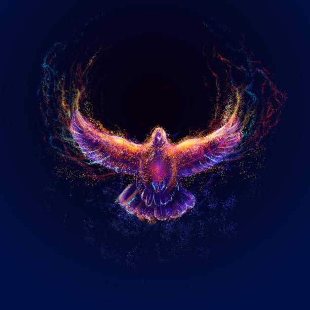 holy spirit - osterfeuer stock-fotos und bilder