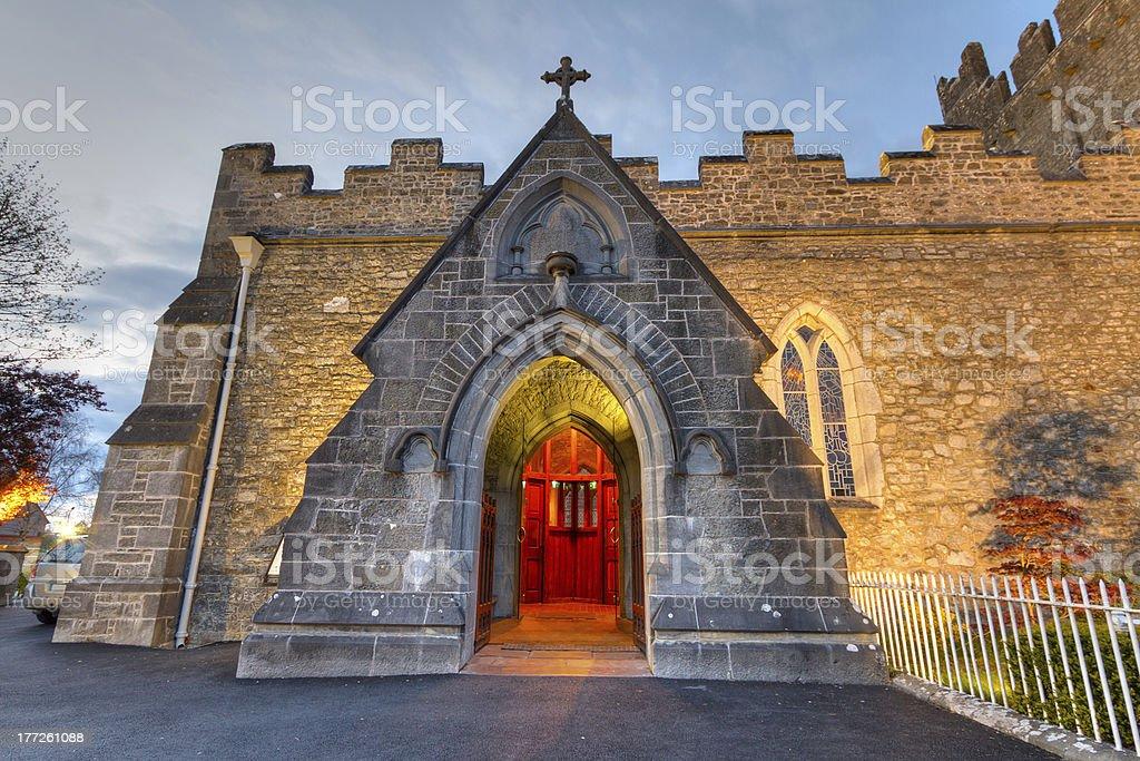 Holy Trinity Abbey church stock photo