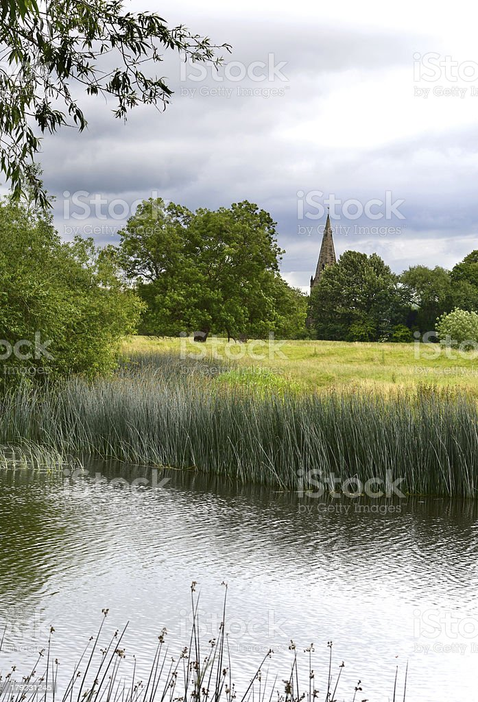 Holy Trinity Church, Ratcliffe-on-Soar stock photo