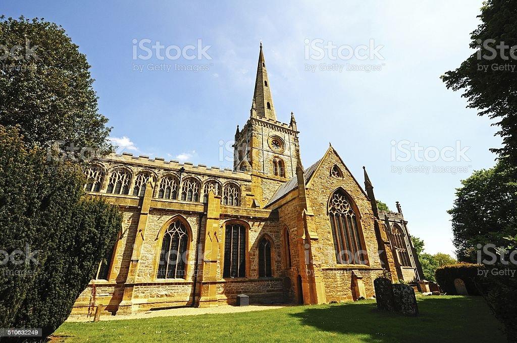 Holy Trinity church, Stratford-upon-Avon. stock photo