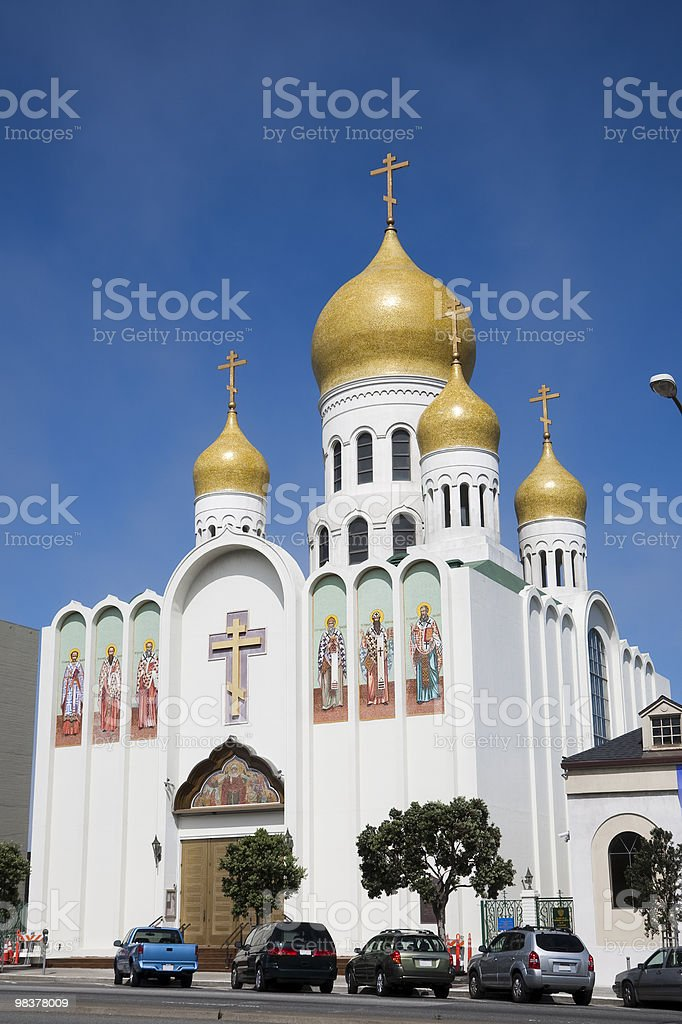 Holy Virgin Cathedral royalty-free stock photo