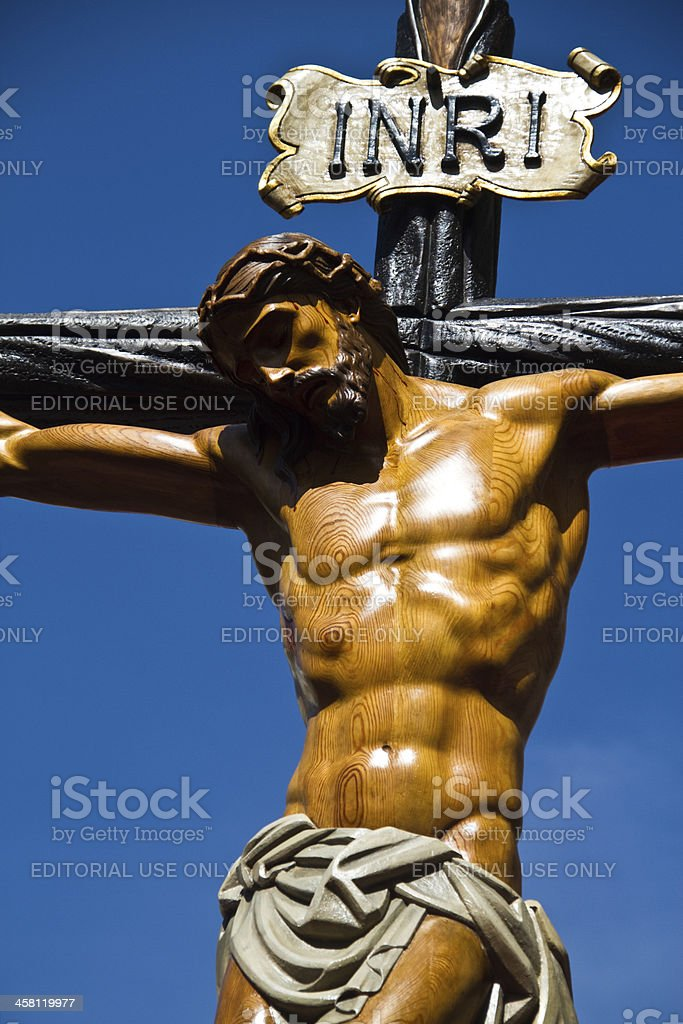 Holy week in Guadalajara - Spain royalty-free stock photo