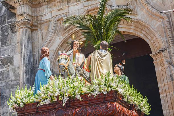 holy week in spain, procession - easter procession spain bildbanksfoton och bilder
