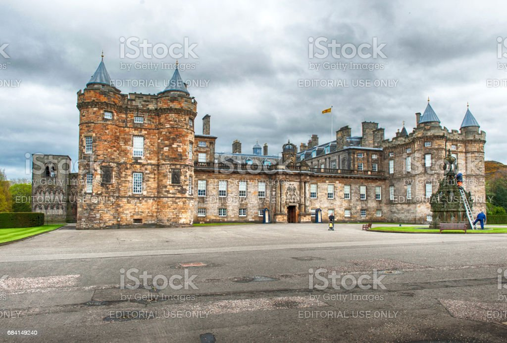 Holyrood House, Edinburgh, Scotland foto stock royalty-free