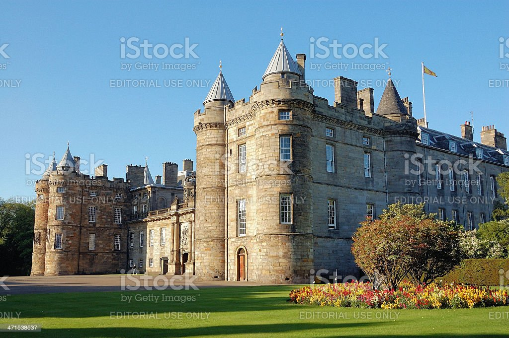 Holyrood House stock photo