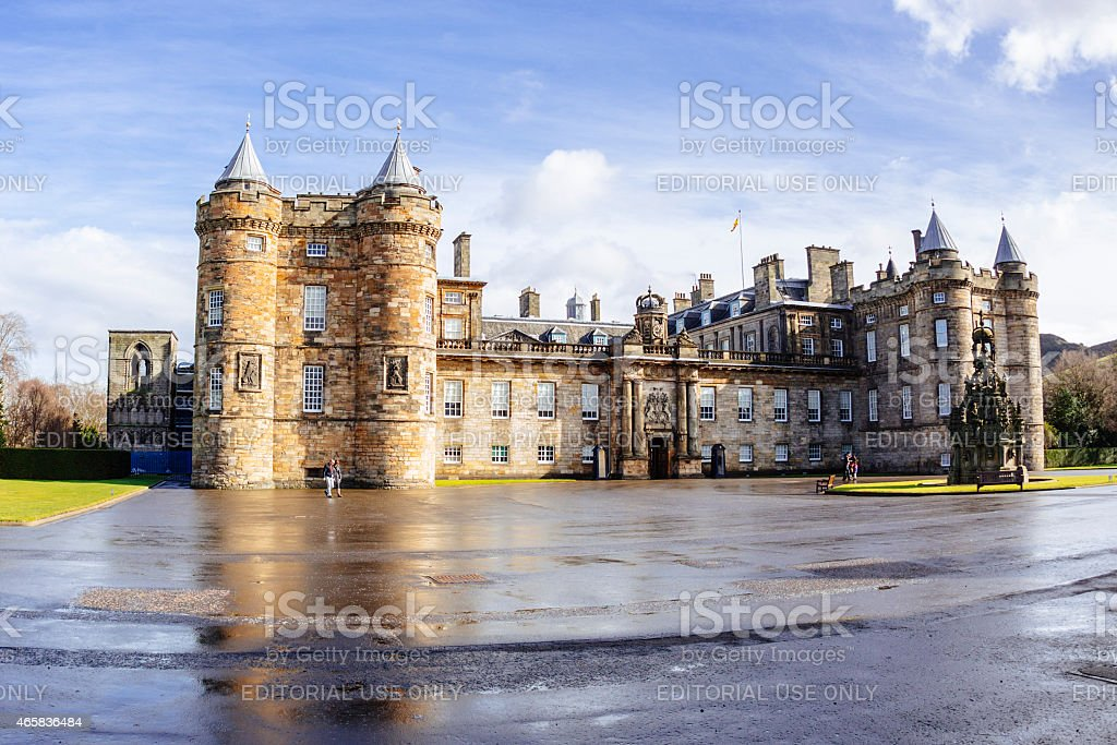 Holyrood Palace, Edinburgh stock photo