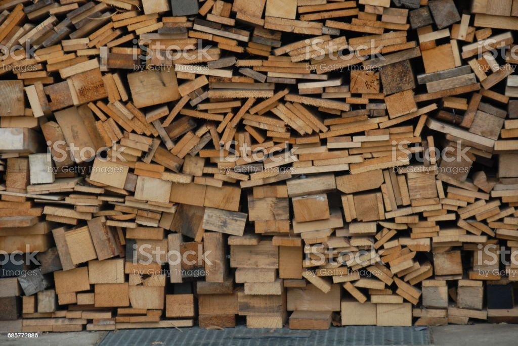 Holz - Brennholz - Baumstamm - Deutschland royalty-free stock photo