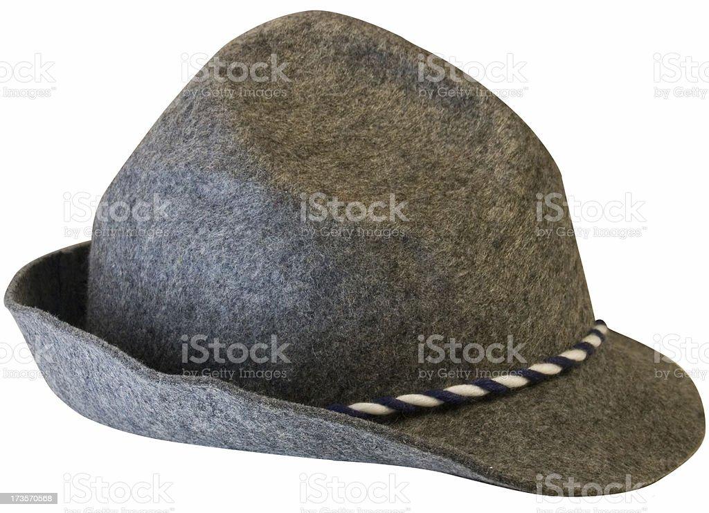 Homburg (german man's hat) royalty-free stock photo