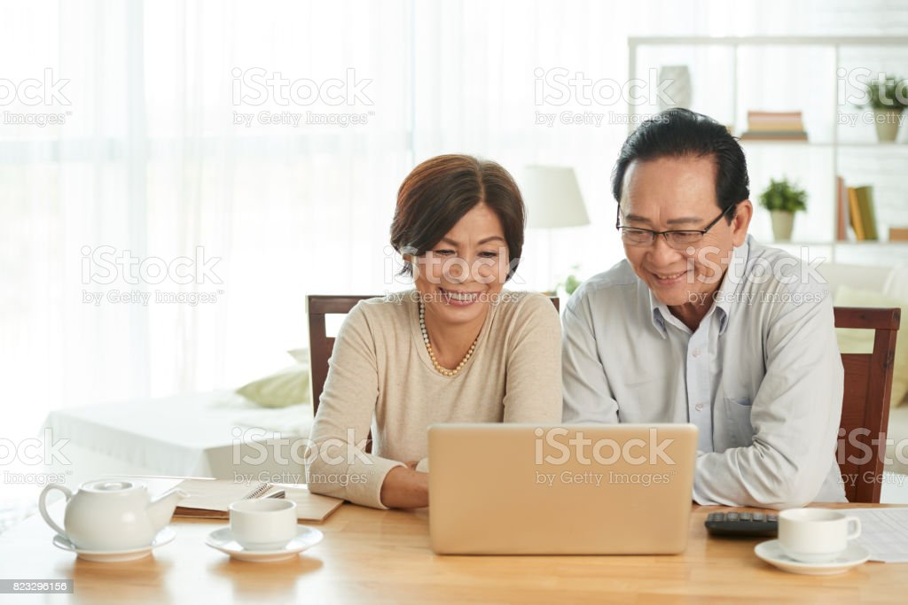 Home accounting stock photo