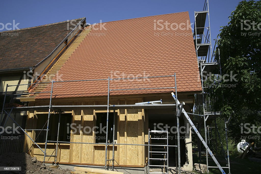 Home Addition royalty-free stock photo