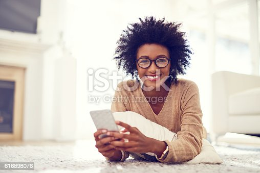 616898108istockphoto Home alone but still connected to everyone I know 616898076