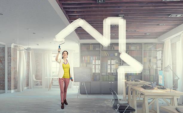 Home and house renovation  . Mixed media stock photo