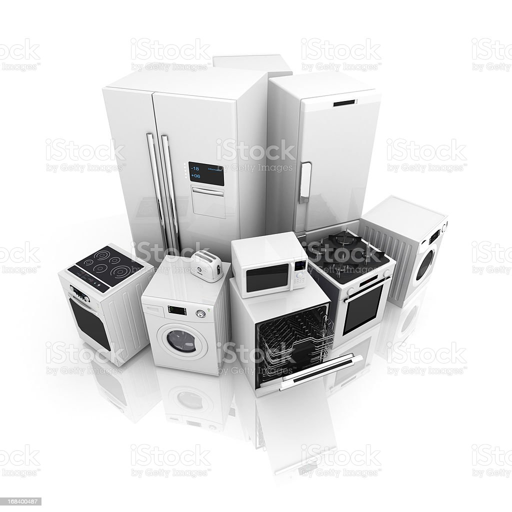 Home appliance royalty-free stock photo