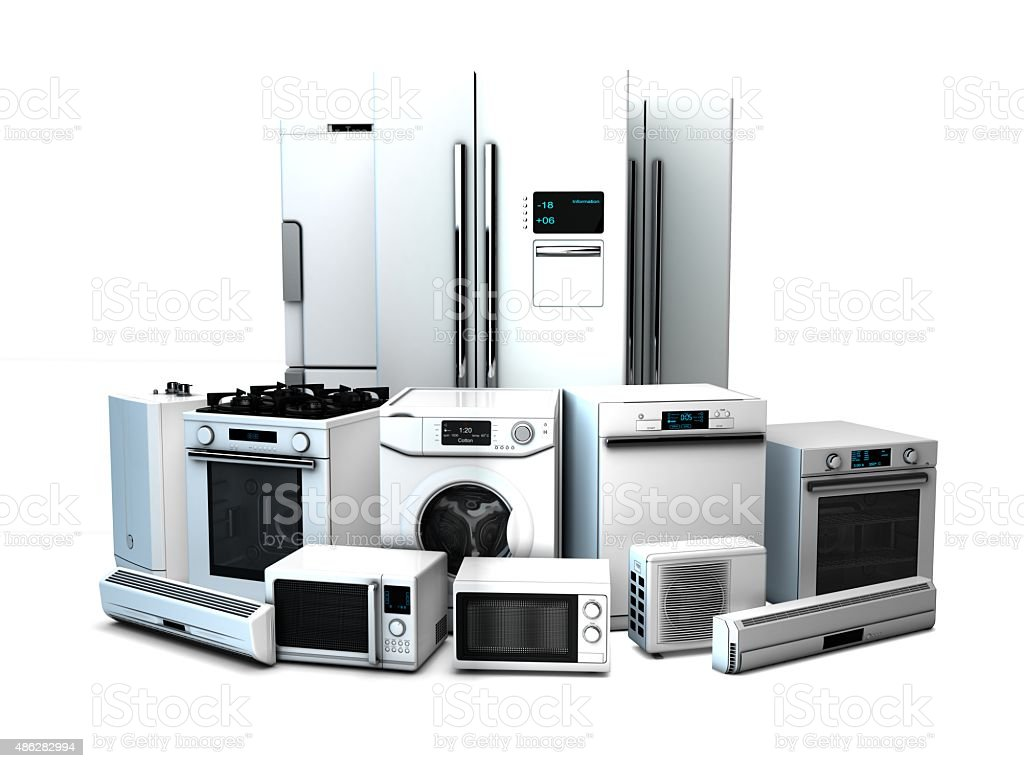 Home Appliance stock photo