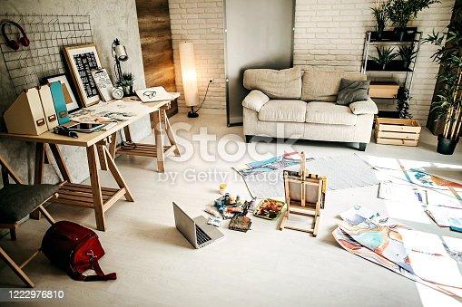 936286060 istock photo Home atelier 1222976810