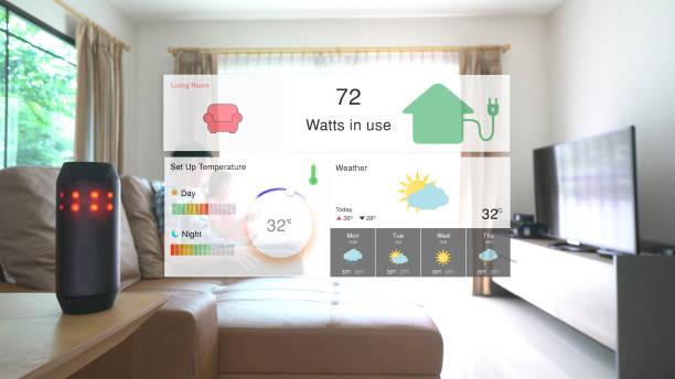 Home-Automation und smart-home-Technologie - Lichtsteuerung – Foto
