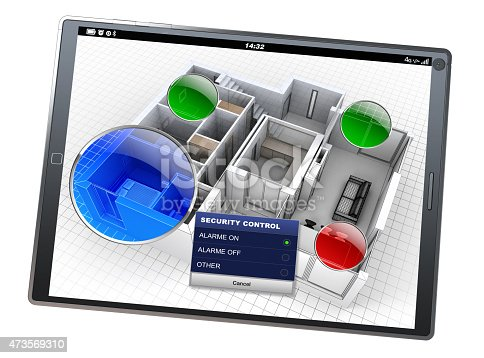 istock Home Automation system app 473569310