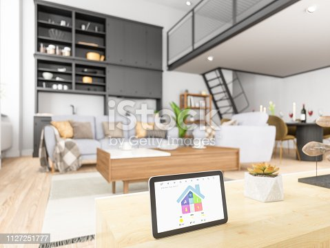 Home automation with Tablet