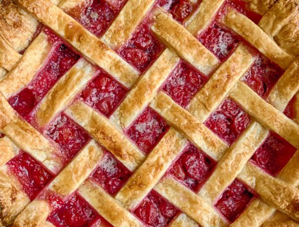 Hausgemachtem Cherry Pie – Foto
