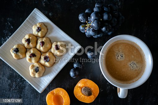 istock home baked cookies and coffee break 1226721291