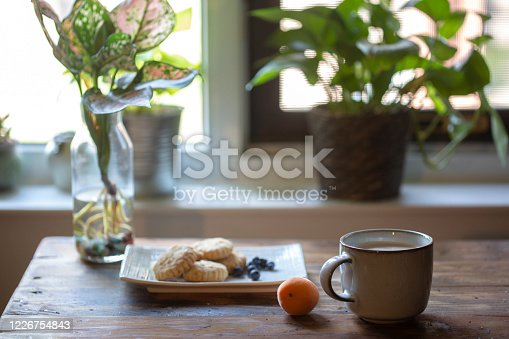 istock home baked cookies and coffee 1226754843
